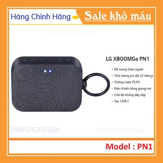 [Mã ELFLASH5 giảm 20K đơn 50K] Loa Bluetooth LG XBOOMGo PN1 - 100% Chính Hãng