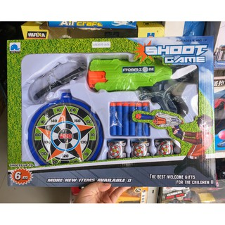 Đồ chơi súng bắn đạn xốp an toàn Yiniya Toys shoot game