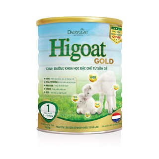 Sữa dê Higoat Gold số 1 loại 800g thumbnail