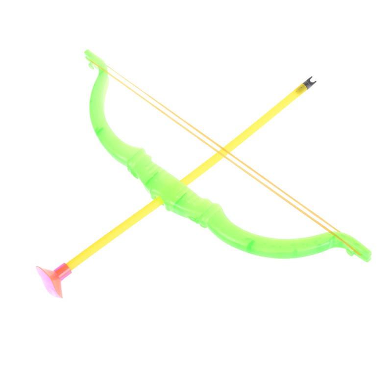Plastic Soft Slingshot Arrow Set Kids Children Educational Outdoor Toys Gifts