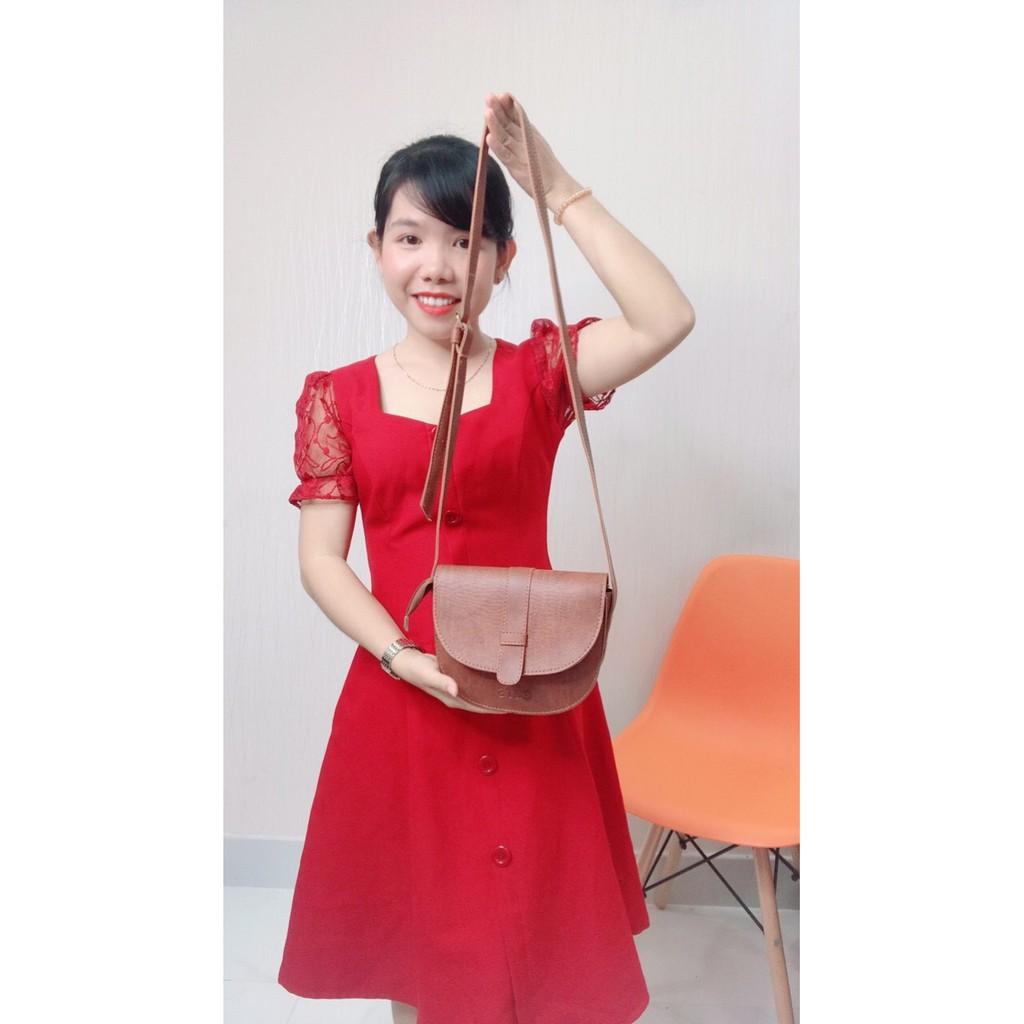 Túi đeo chéo CNT nữ TĐX47 xinh xắn
