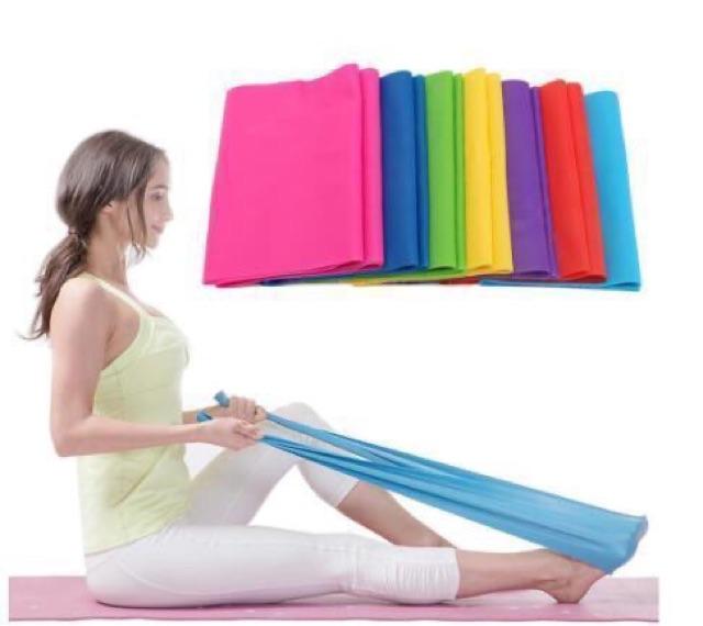 Dây Cao Su Đàn Hồi Kháng Lực Tập Thể Dục Yoga 1,5 Mét