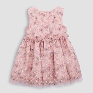 Váy ren hồng Next xuất dư