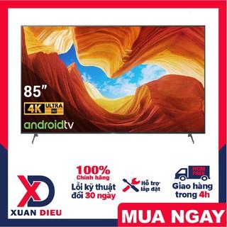 Tivi Sony 4K 85 inch KD-85X86J Mới 2021 Tái tạo màu sắc, giúp những khung hình hiển thị tự nhiên với TRILUMINOS Pro