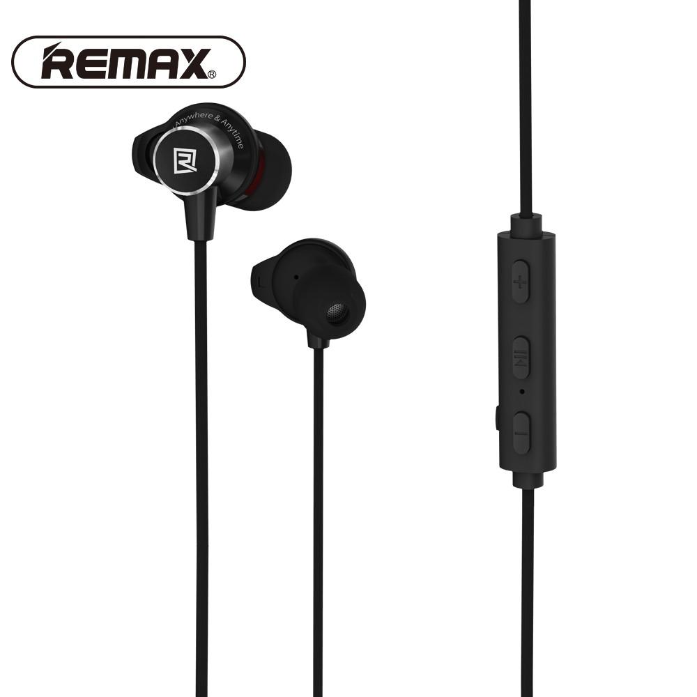 [Mã ELTECHZONE giảm 5% đơn 500K] Tai nghe Bluetooth Remax RB-S7 choàng 2 đầu hít nam châm
