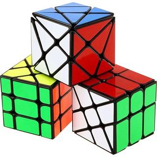 Combo 3 Rubik Axis, Windmill, Fisher - Rubik Biến Thể Viền Đen Cao Cấp thumbnail