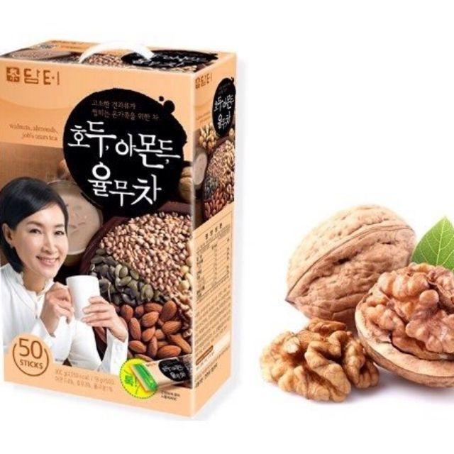 Bột ngũ cốc dinh dưỡng Hàn Quốc Damtuh 900g hộp 50 gói DATE THÁNG 10 - 2022 Mới Nhất