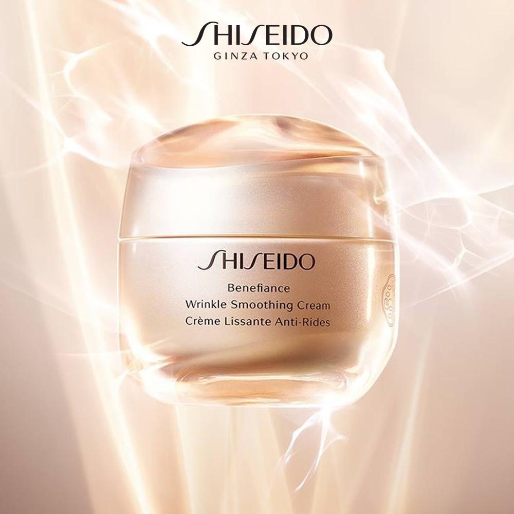 Kem dưỡng da chống lão hóa Shiseido Benefiance Wrinkle Smoothing Cream 50ml  chính hãng 1,800,000đ