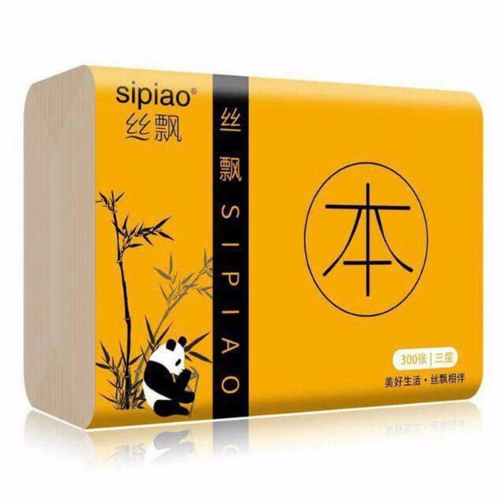 Giấy ăn Sipiao than tre hoạt tính ( lẻ 1 gói nhỏ )