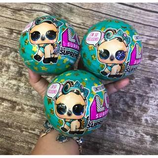 Trứng LOL Pert xanh Series 4 mẫu Noel 2018