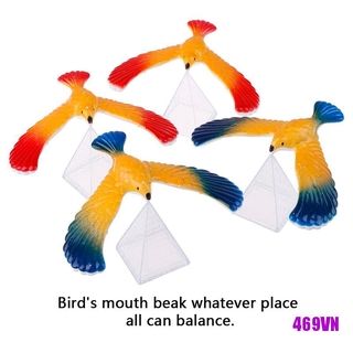 [SWE]1Set Balancing bird + pyramid magic physics science enlightenment kid toy gifts