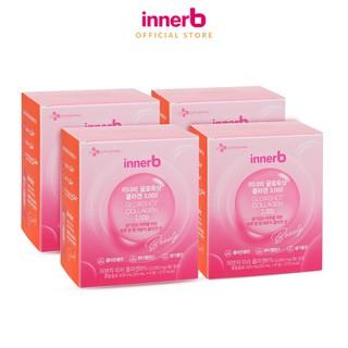 [Mã FMCGM8 giảm 8% đơn 300k tối đa 70k] Combo 4 hộp nước uống Collagen Vitamin C sáng da InnerB Glowshot (50mlx6) thumbnail