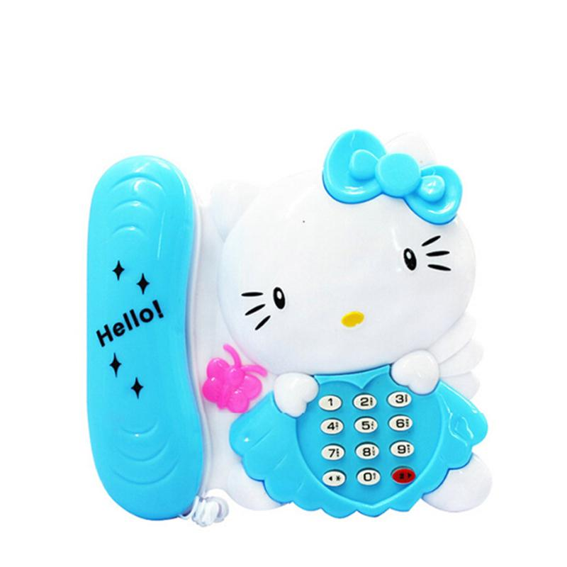 Baby Toys Musical Cartoon Phone Educational Telephone toy Kids Toy Gift