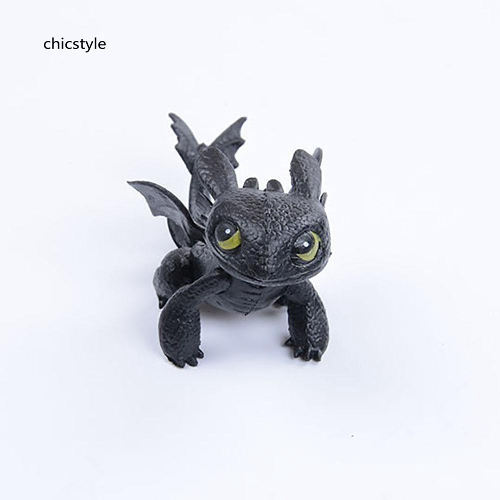 ❤❤❤Cute How To Train Your Dragon 2 Action Figure Toothless PVC Children Kids Toy