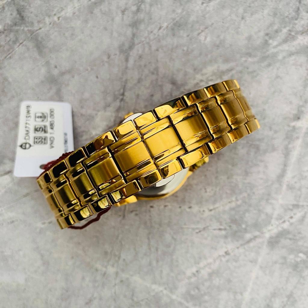 Đồng hồ Sunrise Nam chính hãng Nhật Bản M771SWB.G.XL - kính saphire chống trầy - Chố