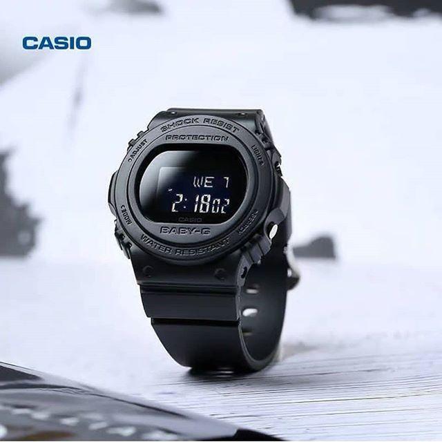 Đồng hồ nữ dây nhựa Casio Baby-G chính hãng Anh Khuê BGD-570-1DR