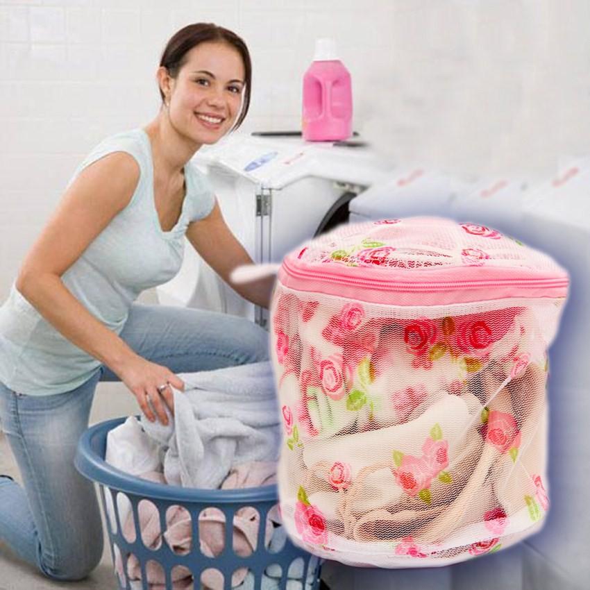 combo 30 túi giặt áo lót hoa