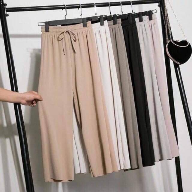 quần ống xuông nữ