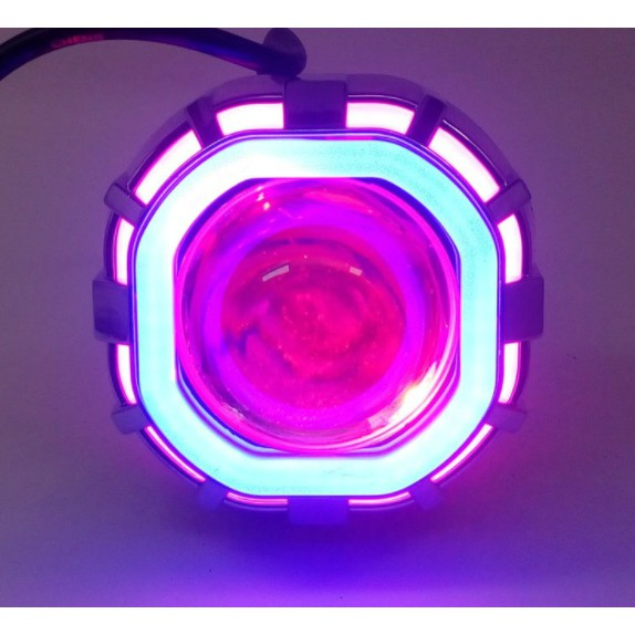 Đèn bi cầu LED Projector Lens H14 (12v-18w):
