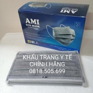 Khẩu trang y tế Ami (Hàng chính hãng - 4 lớp cao cấp) 2