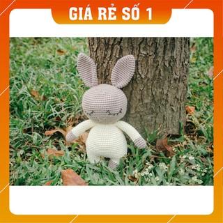 [The Bunny] [Xả Hàng] Thỏ xám áo trắng – Quà tặng cho bé – The Bunny