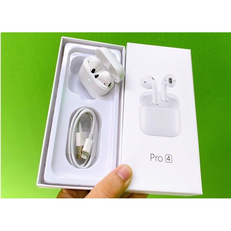 (Pop up) Tai nghe APro 4 Bluetooth 5.0 âm thanh sống động, đổi tên và định vị chuẩn 2020