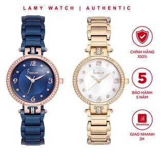 "Đồng hồ nữ Freelook Deep Blue Ocean Watch FL7502 - Lamy watch giá chỉ còn <strong class=""price"">159.900.000.000đ</strong>"