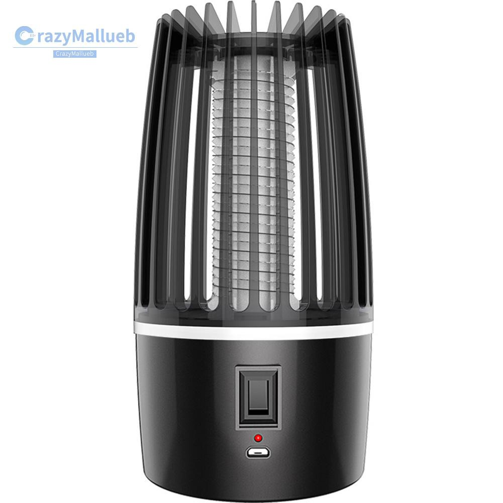 Crazymallueb❤Electric Mosquito Killer Light Photocatalysis Fly Bug Insects Zapper Lamp❤Lighting