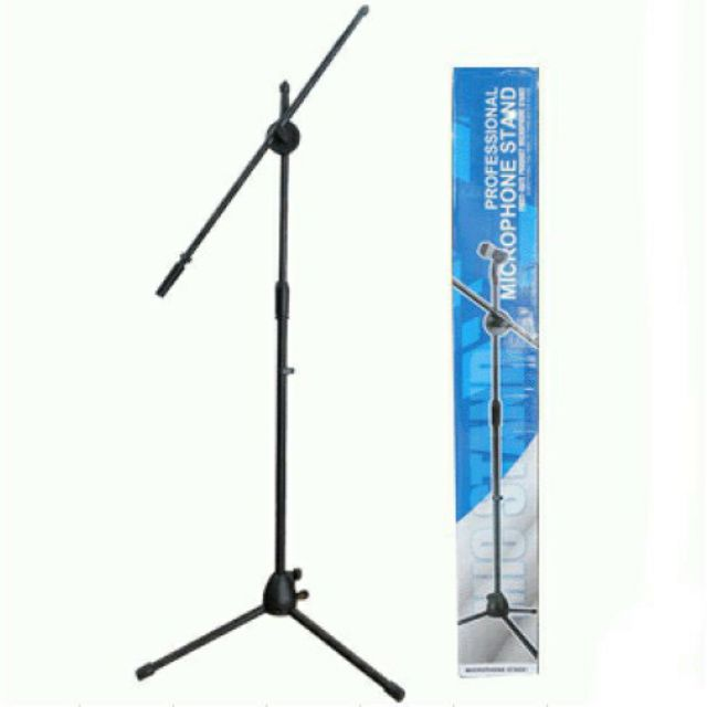Chân đế đứng kẹp Micro bom mic stand-chân đế micro sân khấu
