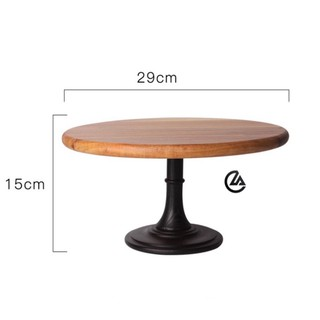 [freeship] [Hàng cao cấp] – cakestand – đế đặt bánh bằng gỗ sồi sang trọng