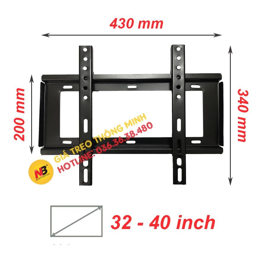 Giá treo tivi sát tường 32 - 40 inch
