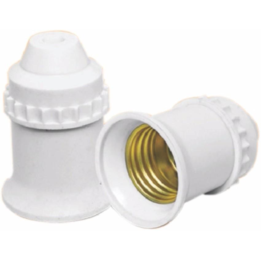 2 Đui đèn tiêu chuẩn E27 Trắng