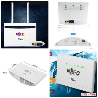 Bộ Router Wifi 4G LTE FB-Link CPE-V01 (2 Anten - Chuyên dùng xe khách - 32 user - 3 port) thumbnail