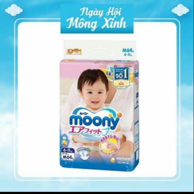 Tã quần moony nhập khẩu M58
