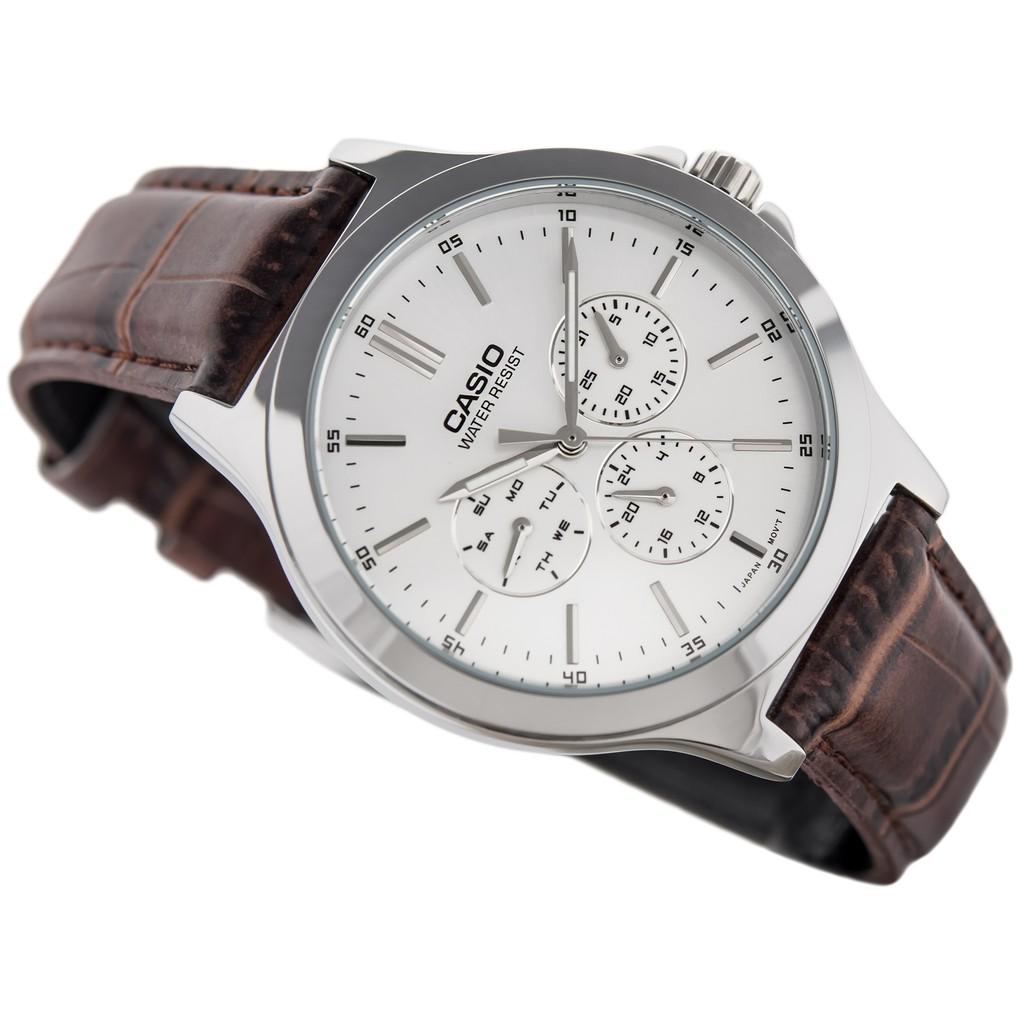 Đồng hồ nam CASIO chính hãng MTP-V300L