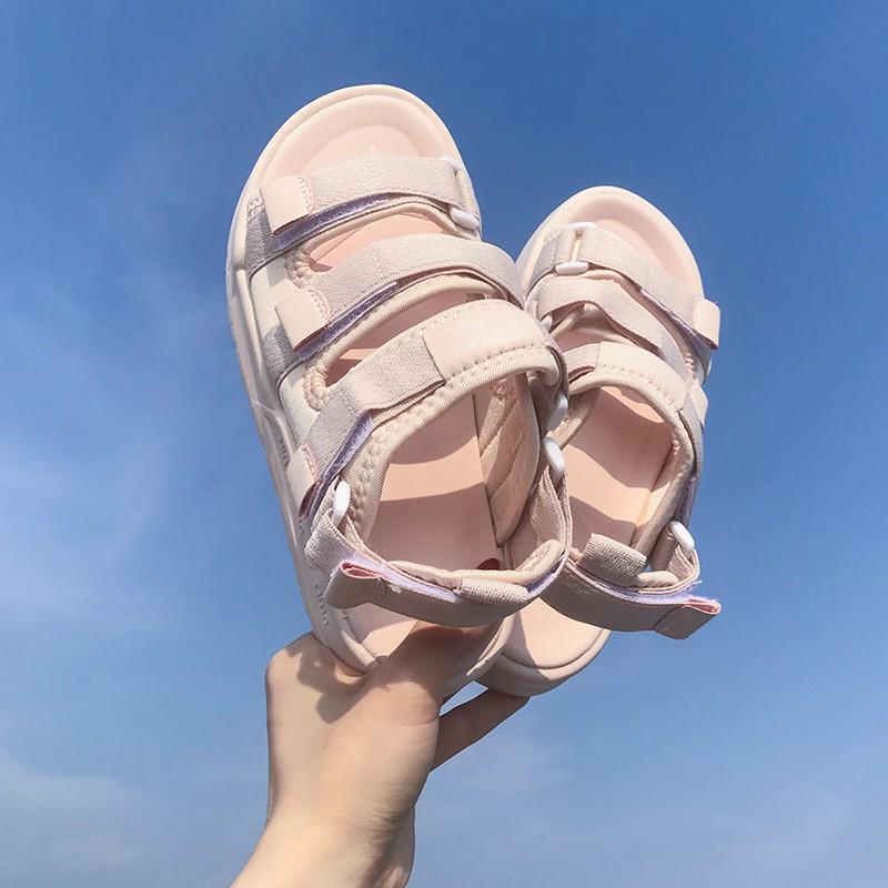 [ORDER] Sandals ulzzang 3 quai ngang màu mới