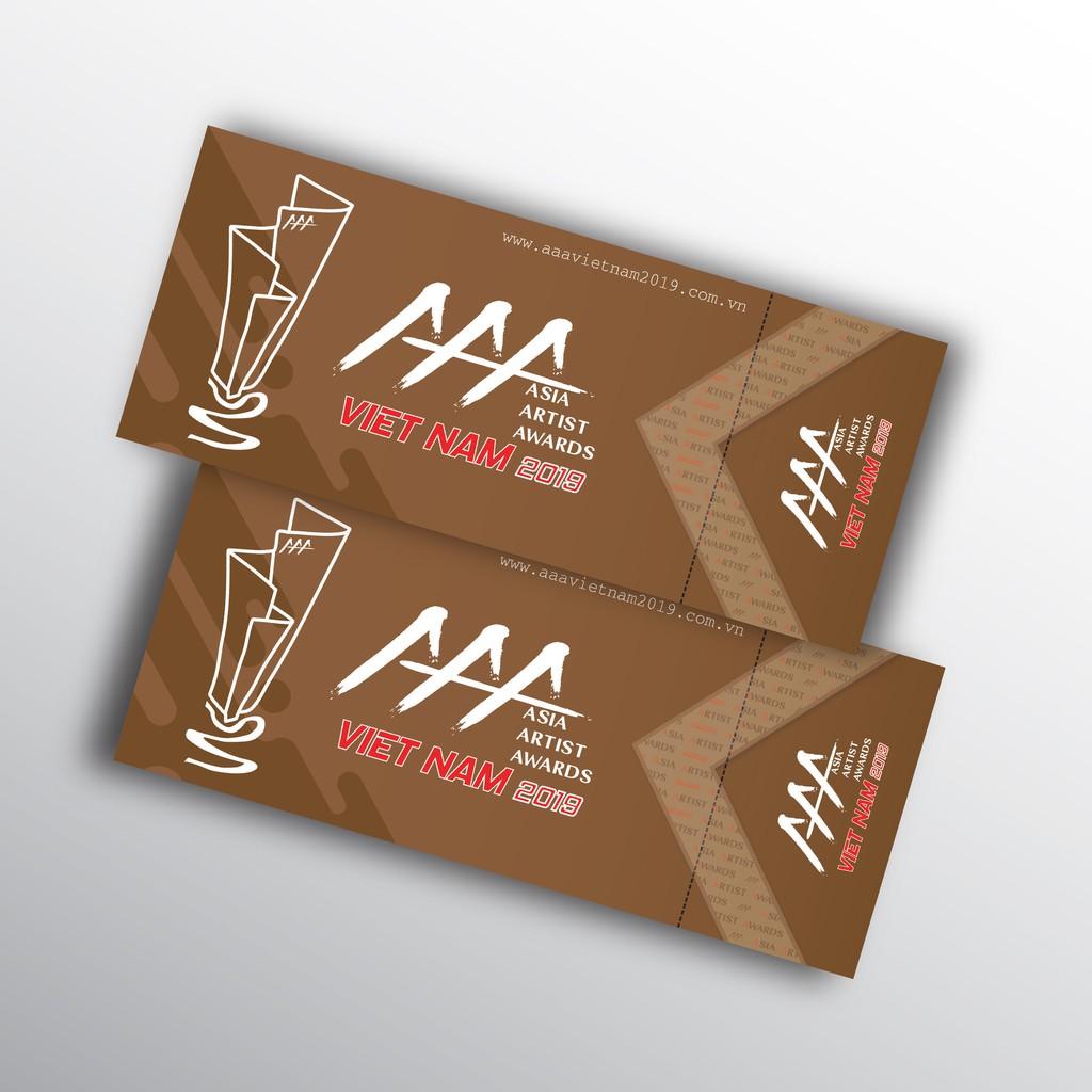 [Hà Nội] COMBO 2 VÉ REGULAR 3 (R3) tham dự sự kiện Asia Artist Awards - AAA 2019