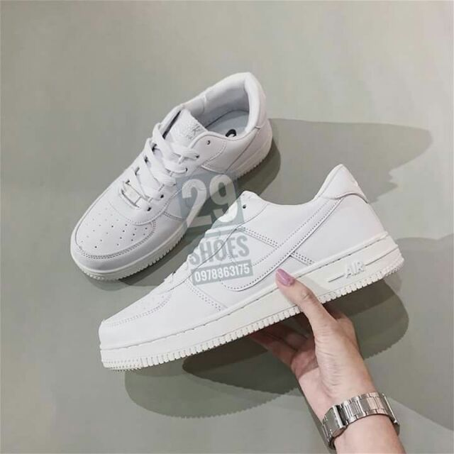 [ Ảnh thật ] - Fullbox giày Nike AF1 form chuẩn da đẹp