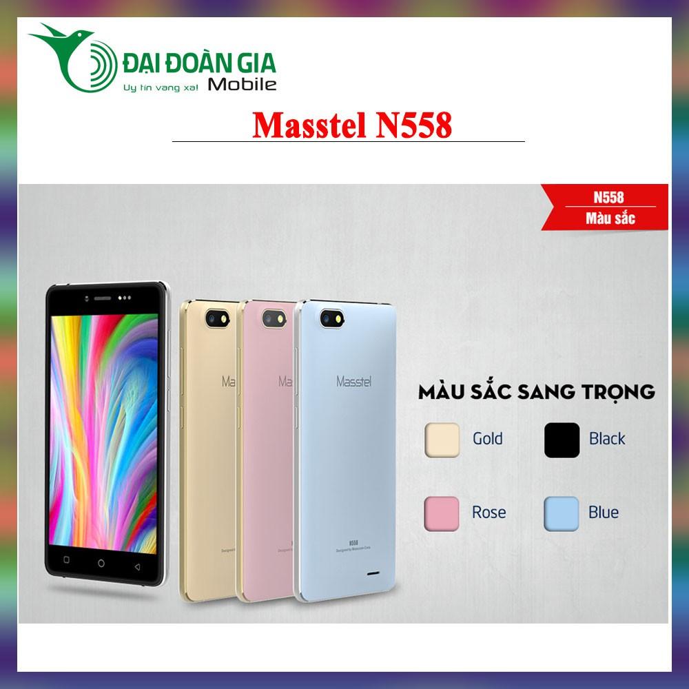 Điện thoại Masstel N558 - Sang Trọng Đẹp Mắt - Tặng kèm ốp lưng