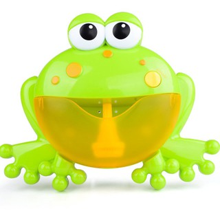 [HOT] Máy tạo bọt thổi bong bóng hình con ếch đáng yêu cho bé