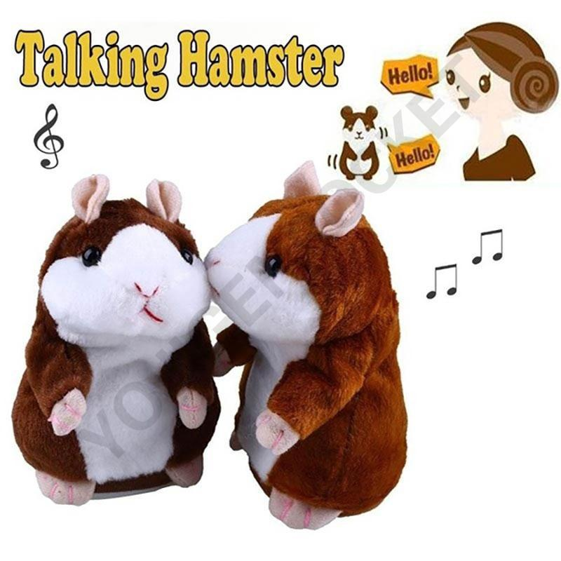 🙋Crazy Sale🙋 Funny Plush Adorable Cute Record Hamster