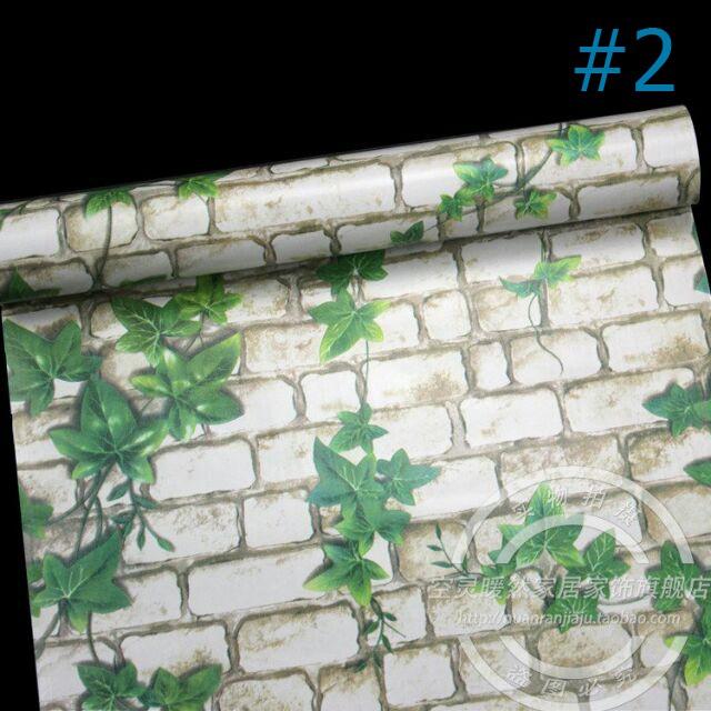 10m giấy dán tường không cần keo khổ 0.45m