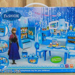 nhà bếp pin tủ lạnh công chúa Người Tuyết Frozen SY2030-70A