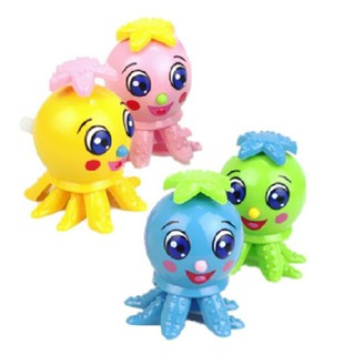 1PCS Kids Random Color Octopus Toy Clockwork