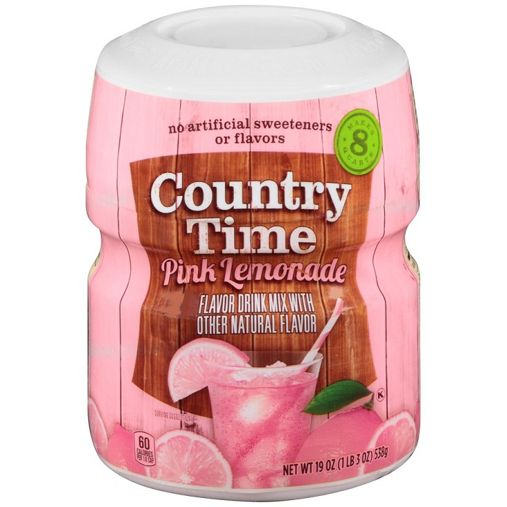 Bột Trái Cây Chanh Hồng Country Time 538G