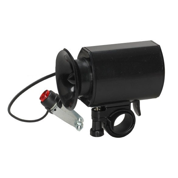 6 Alarm Sound Bike Bicycle Electric Horn Siren Bell with Mount Kit Bla Charmant.vn