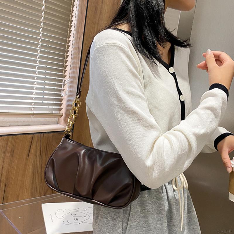 Túi Xách Đeo Vai Chất Liệu Da Phong Cách Hàn Quốc Cho Bạn Nữ