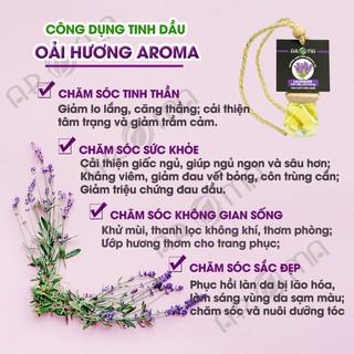 Tinh dầu thơm phòng Oải hương Lavender tinh dầu AROMA khử mùi ngủ ngon 3