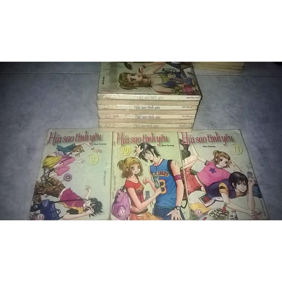 Truyện Hái Sao Tình Yêu Full bộ 11 Tập ( Giá bìa 15.000đ )