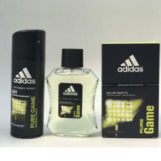 Bộ Nước Hoa + Xịt Khử Mùi ADIDAS PURE GAME thumbnail